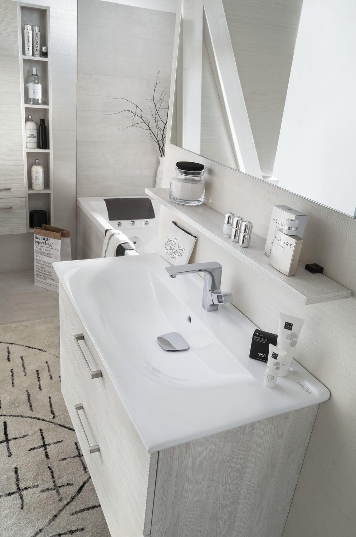 Modernes Badezimmer / Keramik / aus Eiche - UNIQUE Onde chêne ...