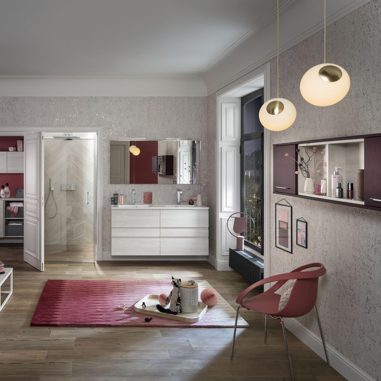 modernes badezimmer / keramik / laminat / kundenspezifisch - unique