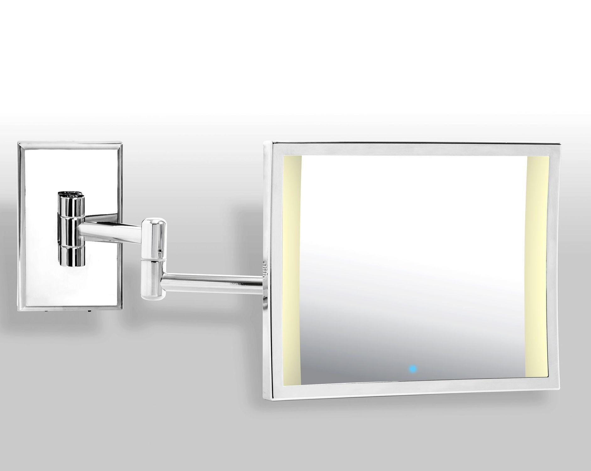 Wandmontierter Spiegel für Badezimmer / LED beleuchtet / modern ...