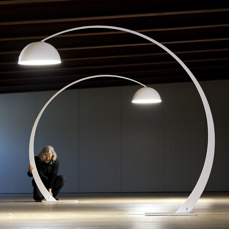 Faszinierend Stehlampe Bogen Foto Von Stehleuchte / Originelles Design / Metall /