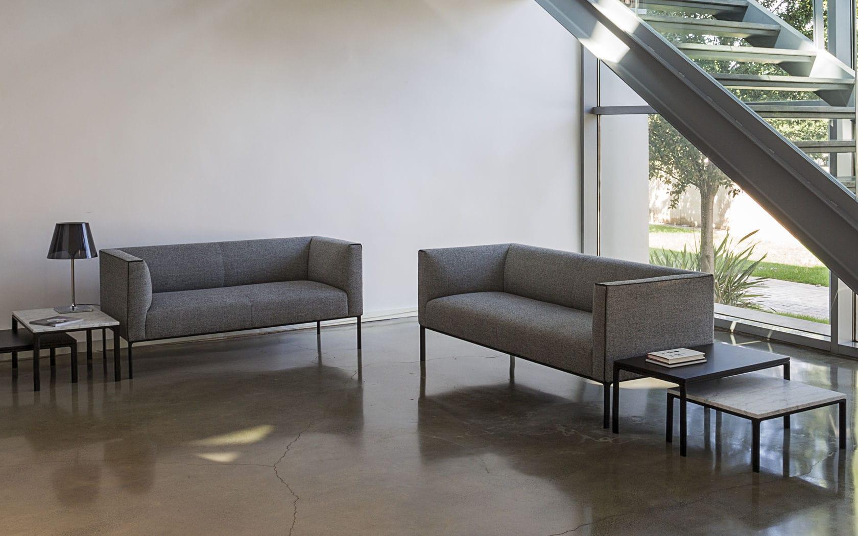 Modulierbares Sofa / modern / Stoff / für öffentliche Einrichtungen ...
