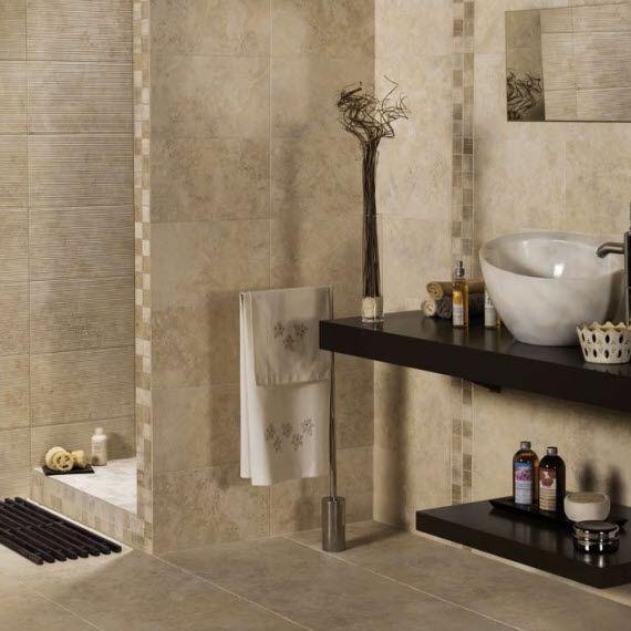 Innenraum Fliesen Fur Badezimmer Boden Feinsteinzeug
