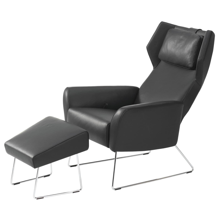 Moderner Sessel / Leder / Ohren / Kopfstütze - SELECT by Roger ...