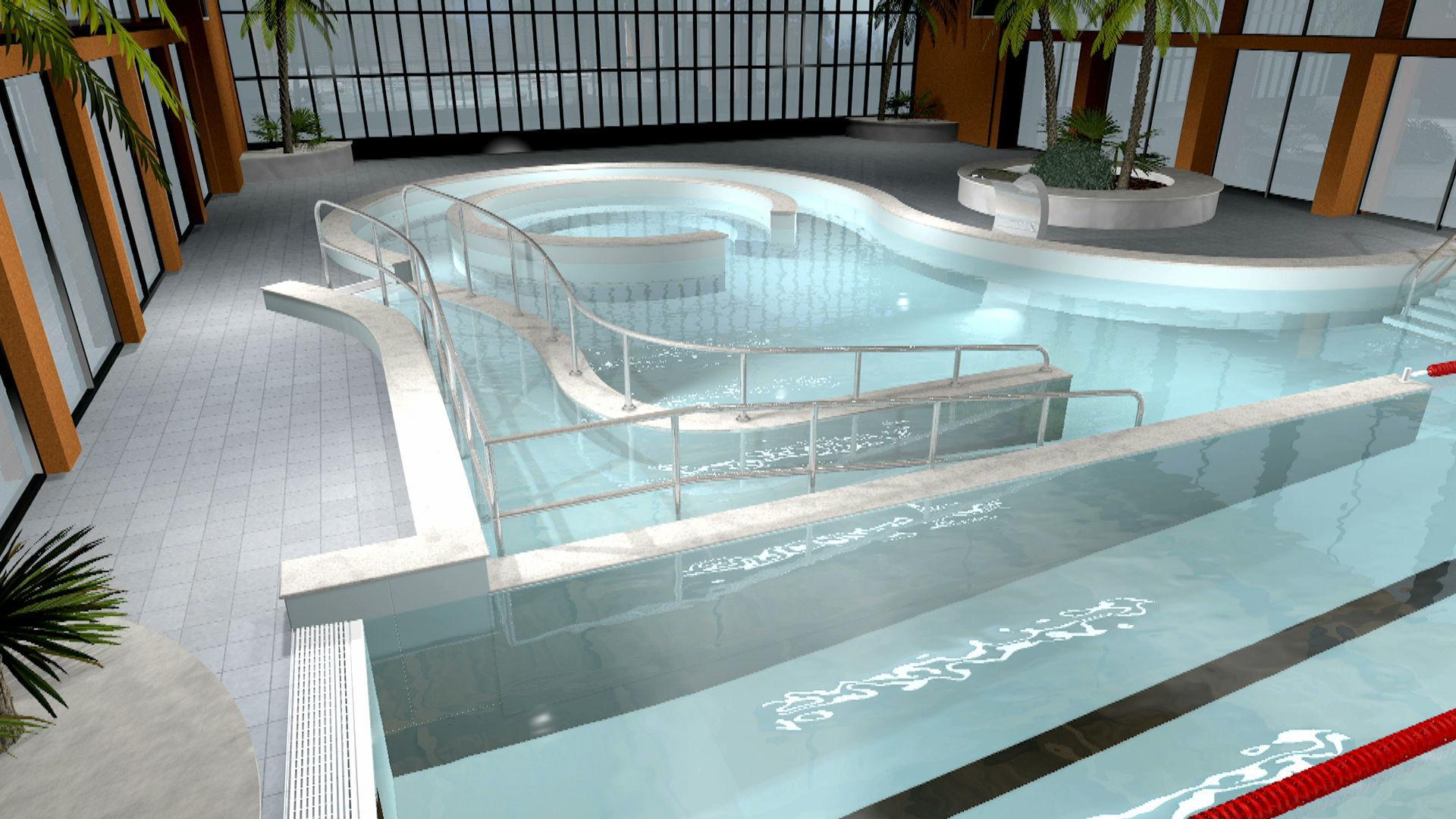 Perfect Erdverlegtes Schwimmbecken / Edelstahl / Für Hotels / Nach Maß   MYRTHA  TECHNOLOGY