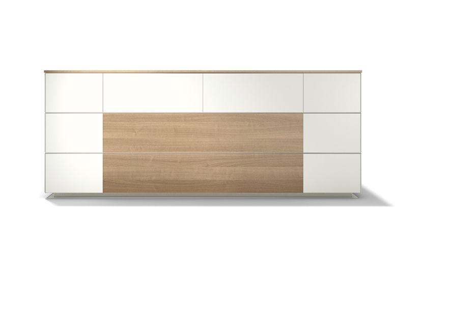 Empfangstheke für Eckeinbau / modulierbar / Holz / Laminat - WINEA ...