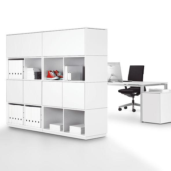 Modul-Bibliothek / hoch / niedrig / minimalistisch - WINEA MATRIX ...