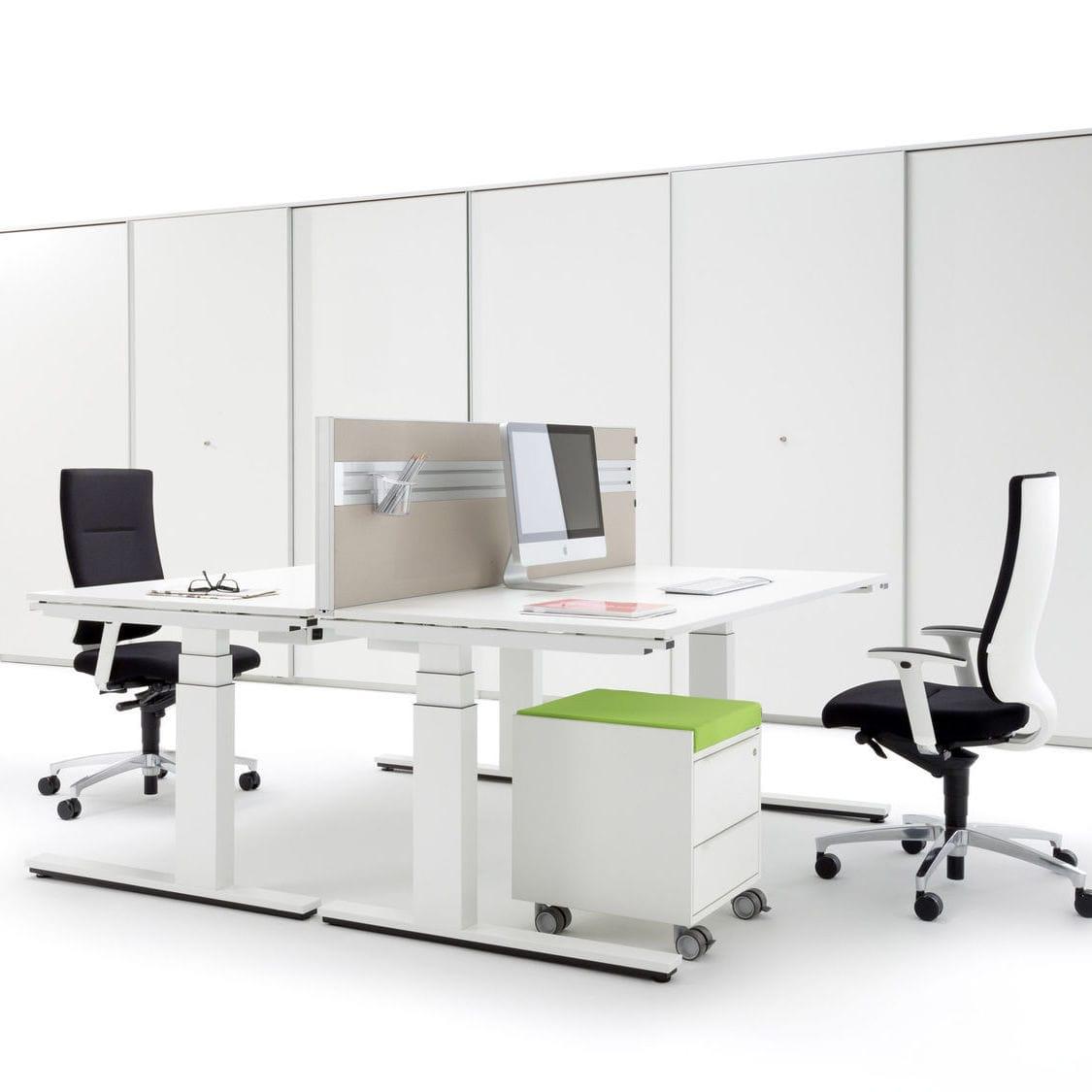 Schreibtisch für Open Space / Holzfurnier / modern / Gewerbe - WINEA ...
