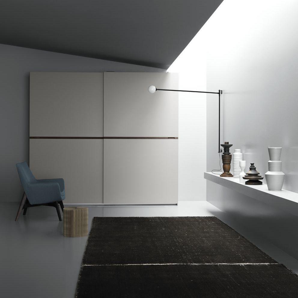 Moderner Kleiderschrank / Schiebetüren - CARIS - md house