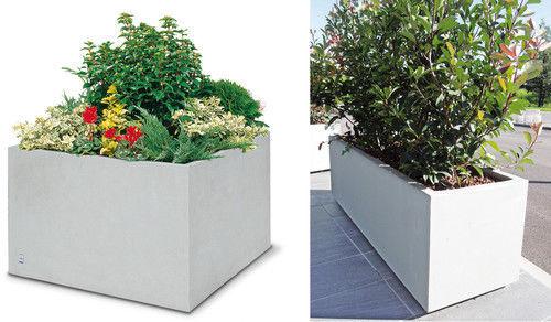 Beton-Pflanzkübel / rechteckig / quadratisch / modern - ANDROMEDA ...