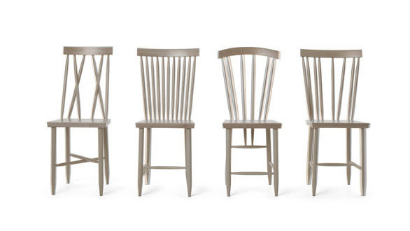 GroB ... Stuhl / Skandinavisches Design / Aus Buche
