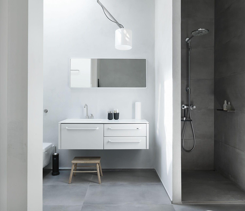 Wandmontierter Spiegel / Modern / Rechteckig / Für Badezimmer   VIPP912 By  Morten Bo Jensen