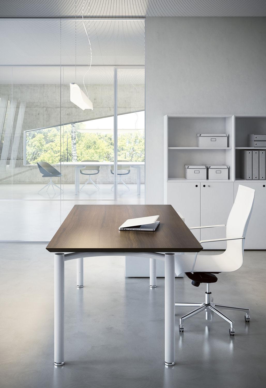 Schreibtisch Für Open Space Laminat Modern Objektmöbel Mèta