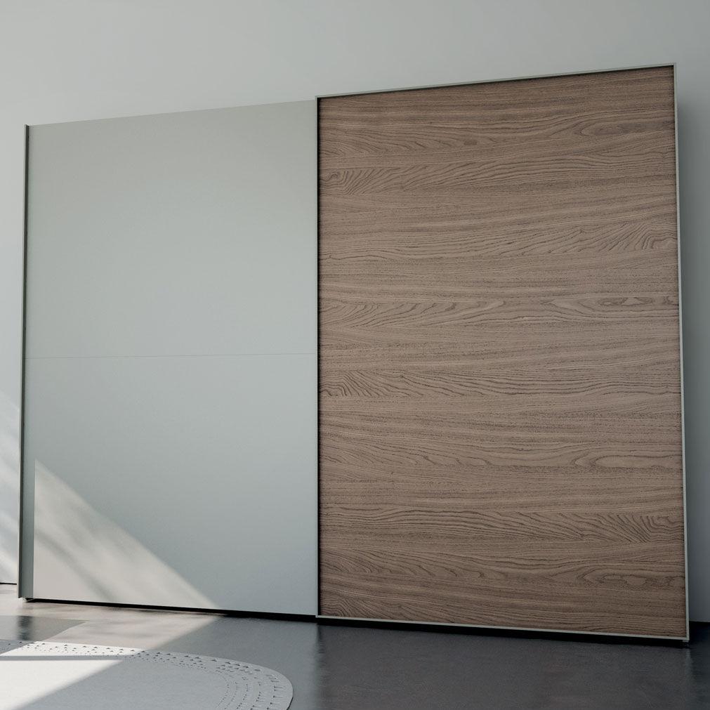 Moderner Kleiderschrank / Holz / Schiebetüren - LOOM - CACCARO