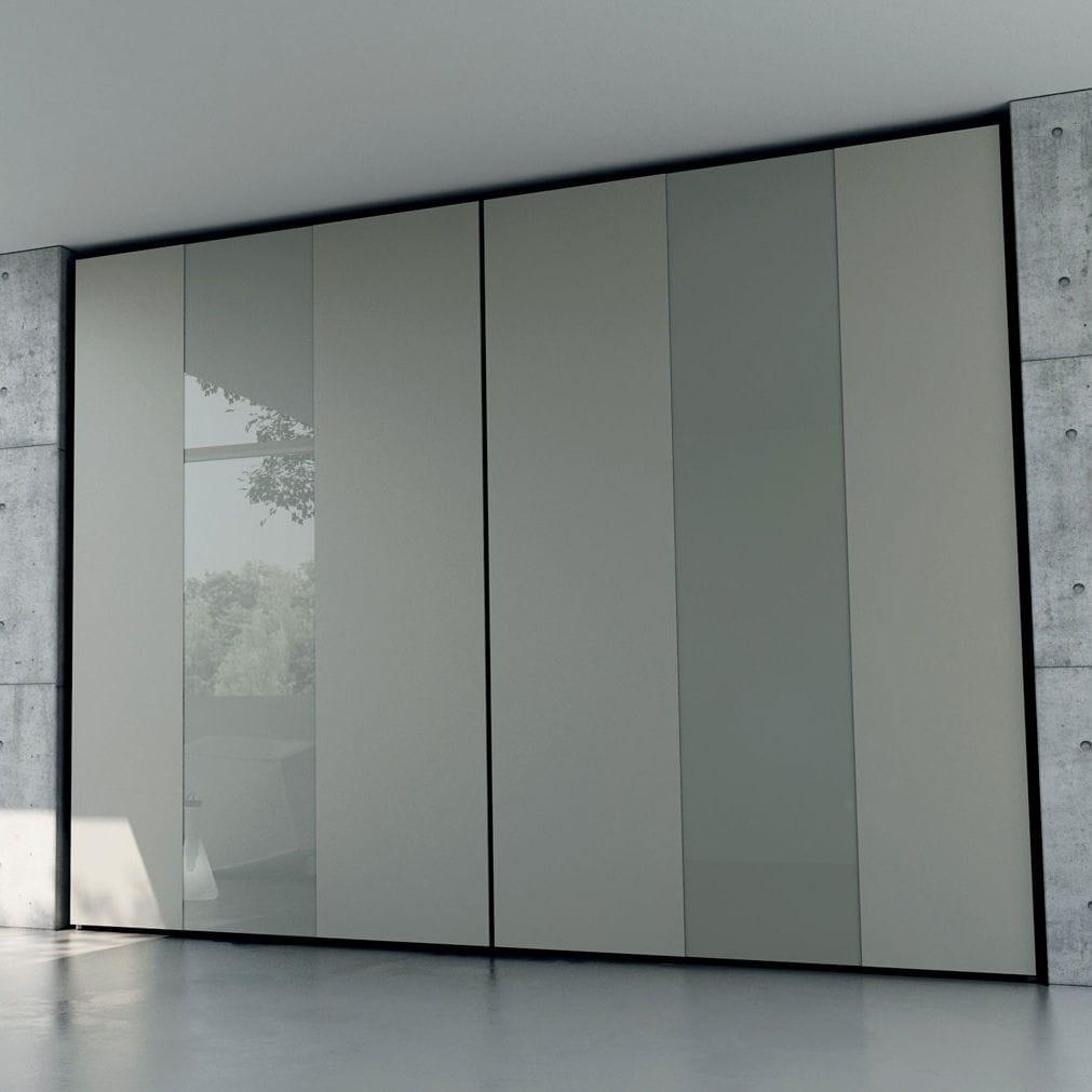 Moderner Kleiderschrank / Holz / Schiebetüren - FORM - CACCARO