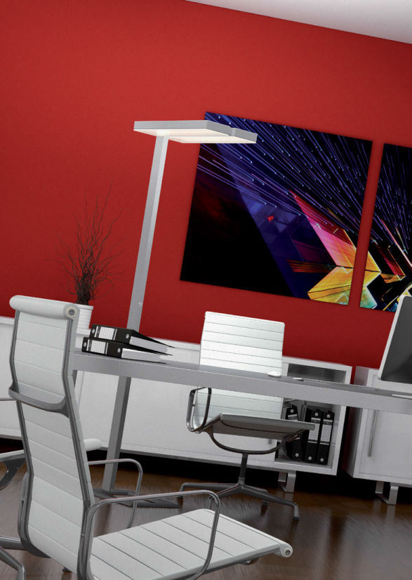Stehleuchte / modern / Metall / dimmbar - ASCONA - LTS Licht & Leuchten