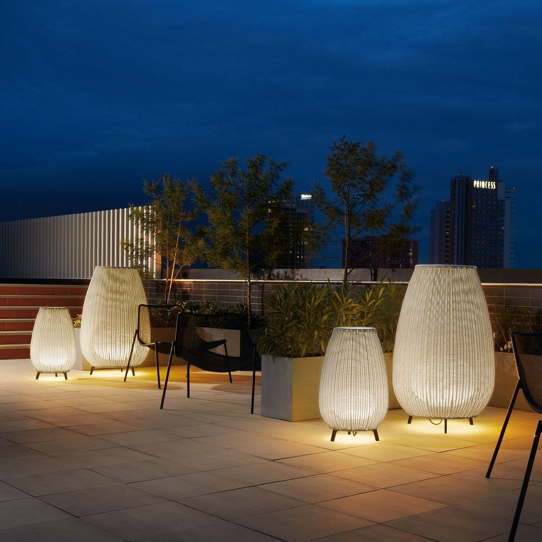 Bodenlampe Modern Synthetikfaser Polyethylen Amphora 01 By