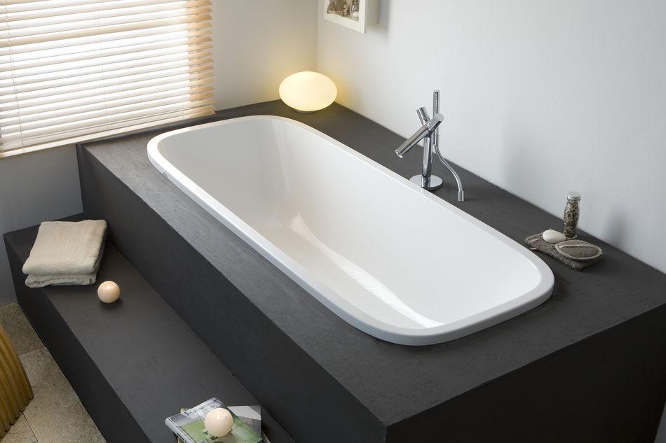 Vasca Da Bagno Hoesch : Holzbadewanne aus acryl singlebath uno: 3687 by code2design hoesch