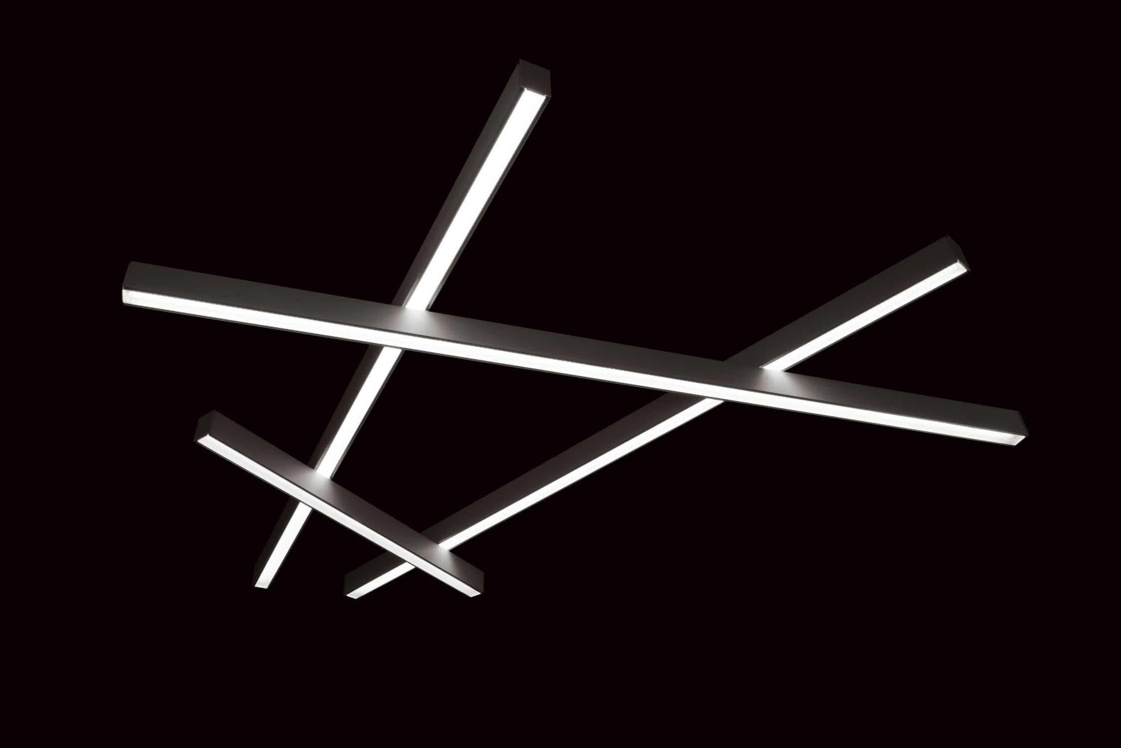 Hängeleuchte / LED / linear / modulare Beleuchtungssysteme ...