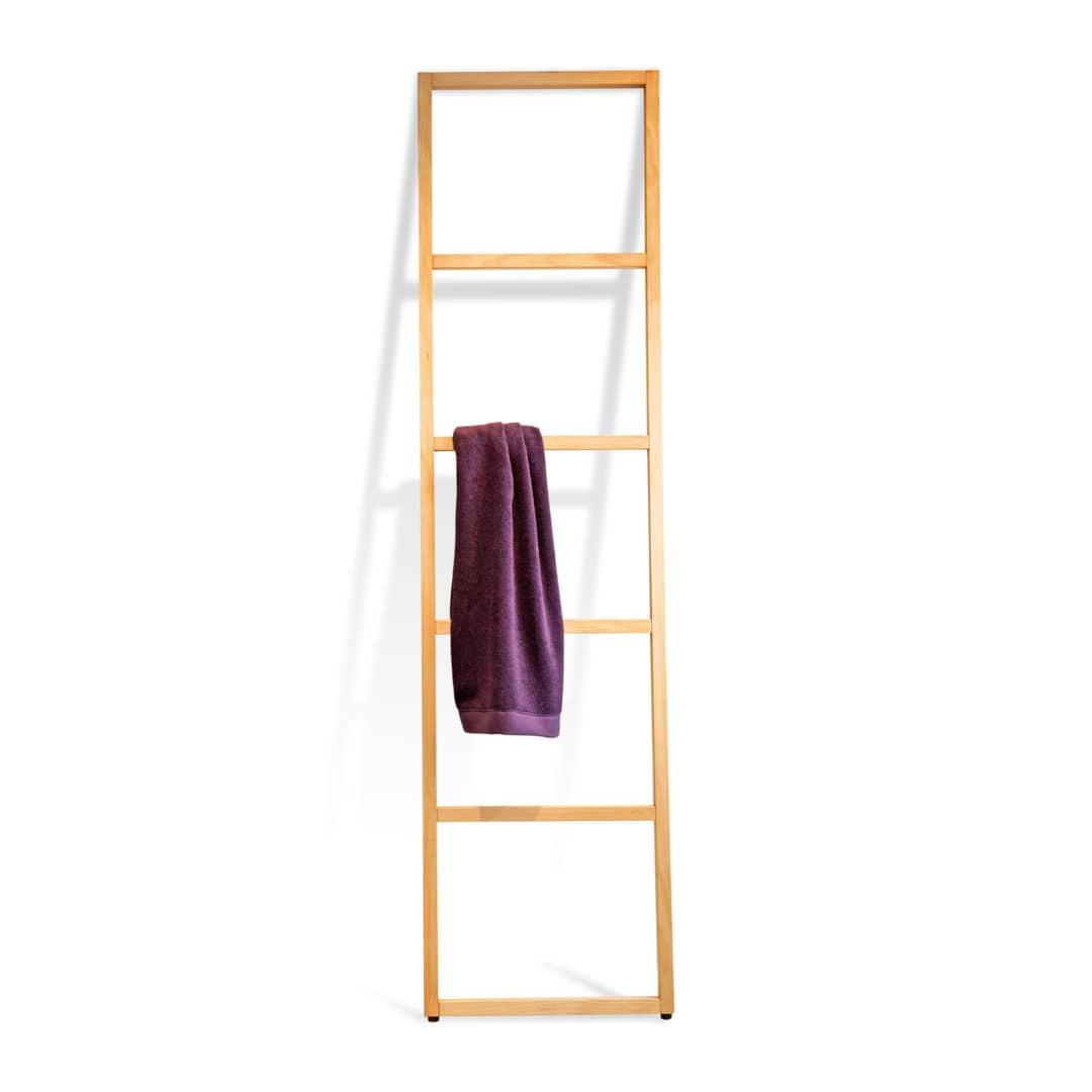 Leiter Handtuchhalter Bodenstehend Holz Wood Wo Htl Decor