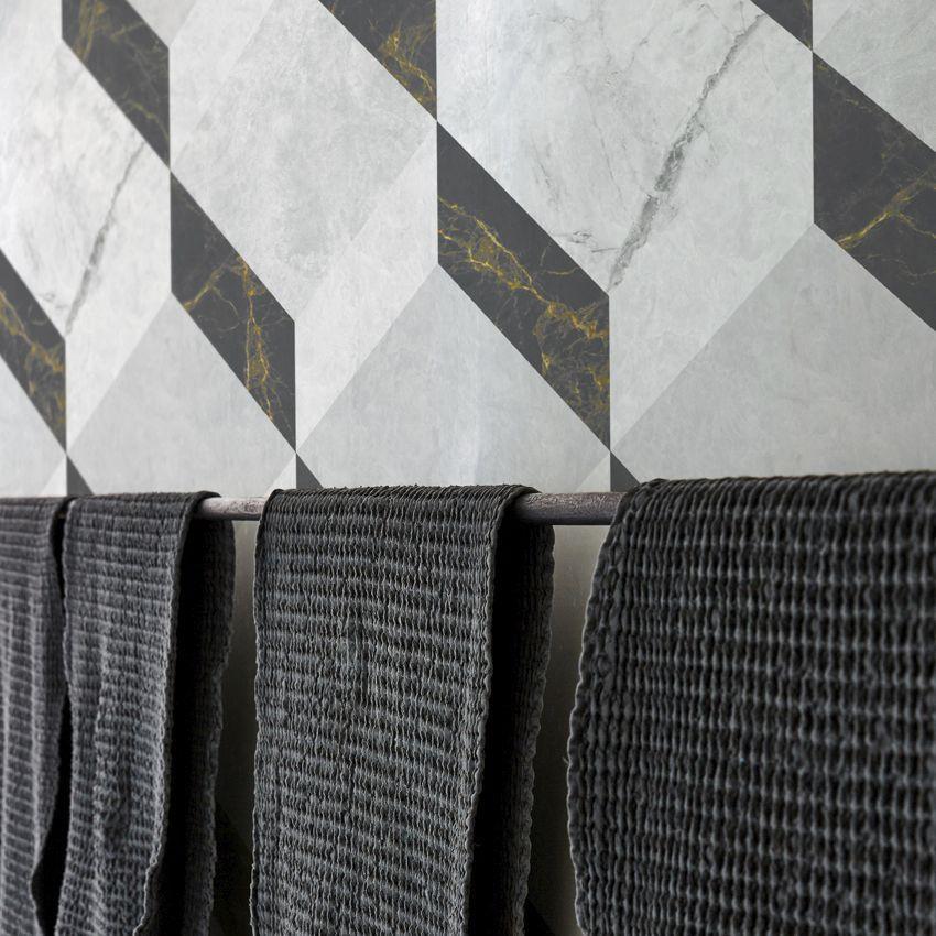 Tapete Originelles Design Vlies Mit Geometrischem Muster