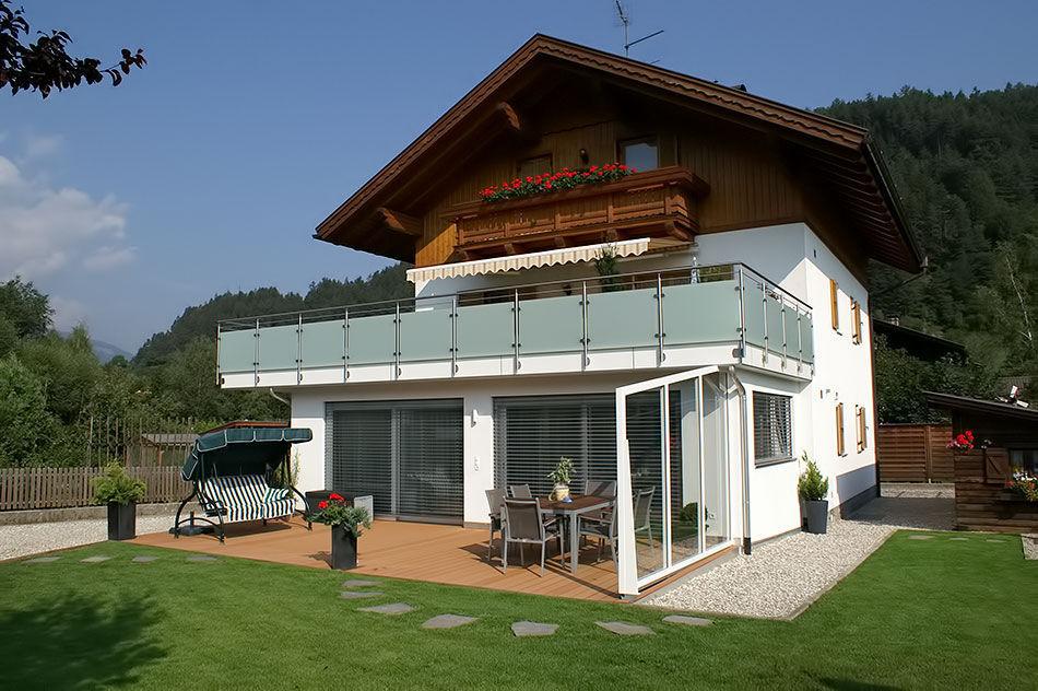 Balkon Holz Finest Gelnder Am Balkon Bauen Aus Edelstahl Holz Oder