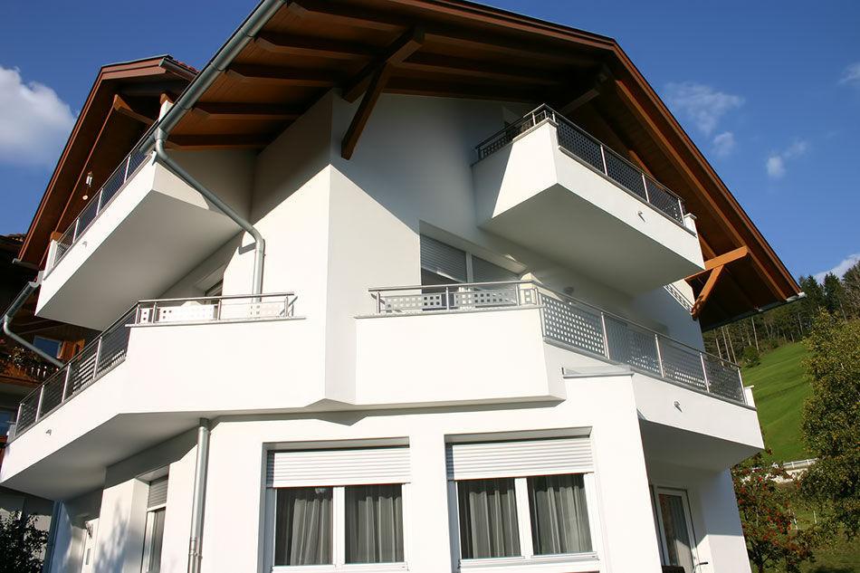 Platten Balkon Edelstahl Inox Design