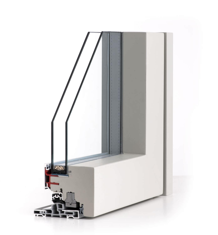 fenster zum kippen / holz / aluminium / doppelverglasung - isik, Moderne