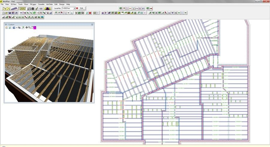 Zeiche Software Modellierung Architektur Fur Treppen Joist