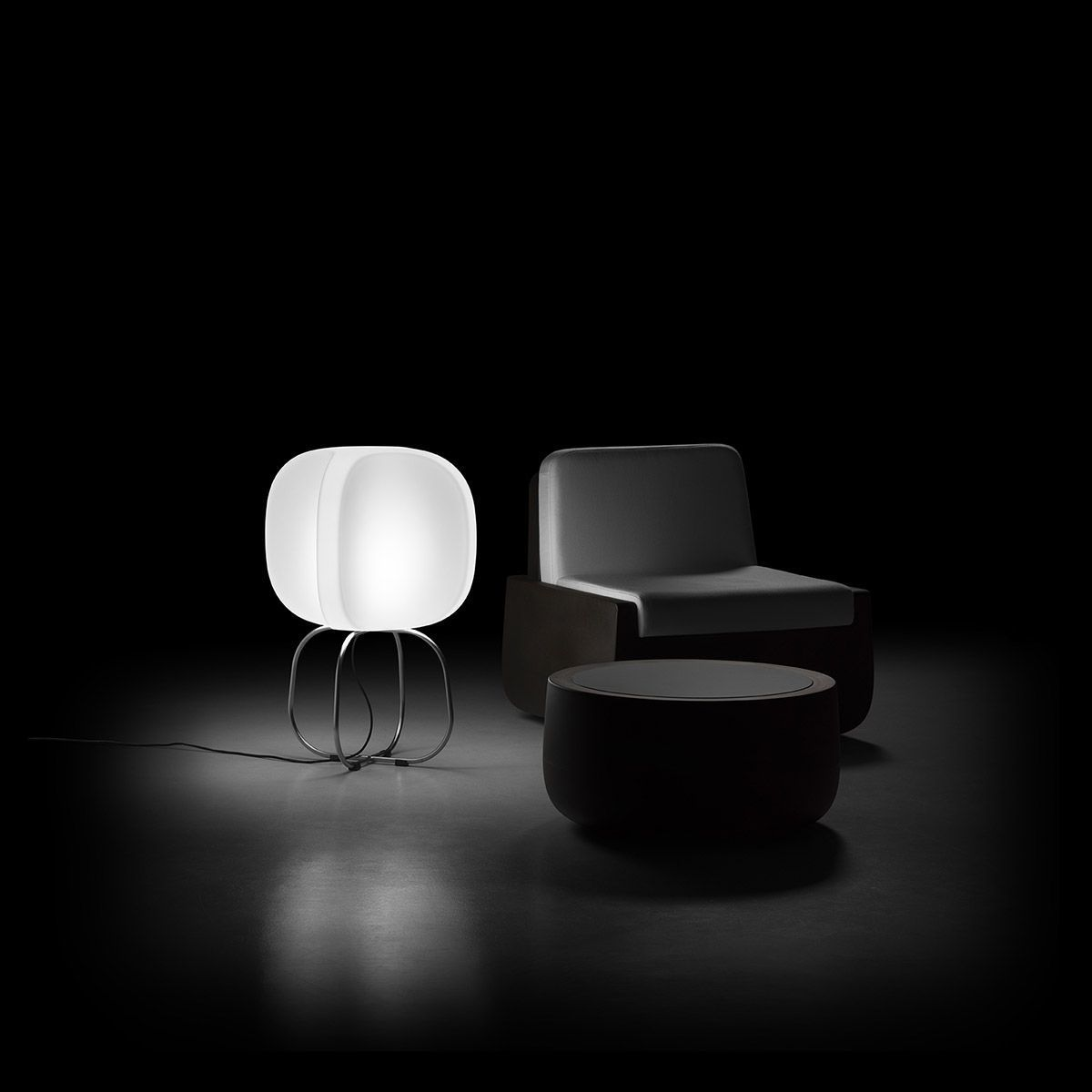 Bodenlampe Modern Polyethylen Innenraum Four By Philippe