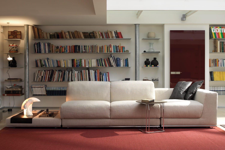 Modulierbares Sofa Bett Modern Stoff Joe By Alesandro Elli