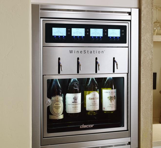 Weinkühlschrank für Privatgebrauch / Einbau / Unterbau / Metall ...