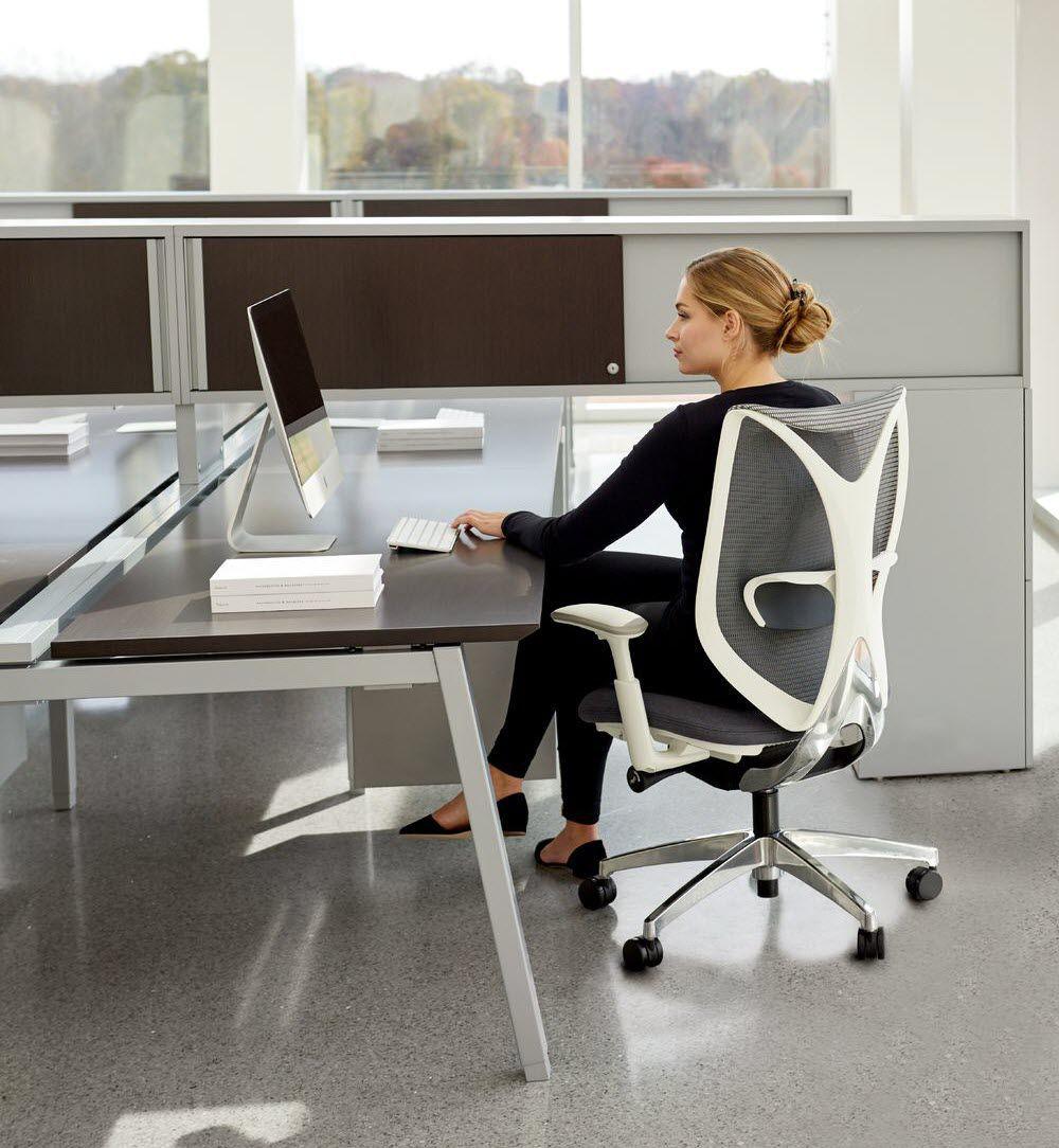 Bürotrennwand für Theken / Glas / Holz / Metall - INTERPRET ...