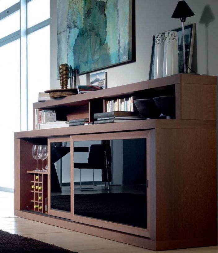 Sideboard holz glas  Modernes Sideboard / Holz / Glas - COMPOSITION 04 - Calgari