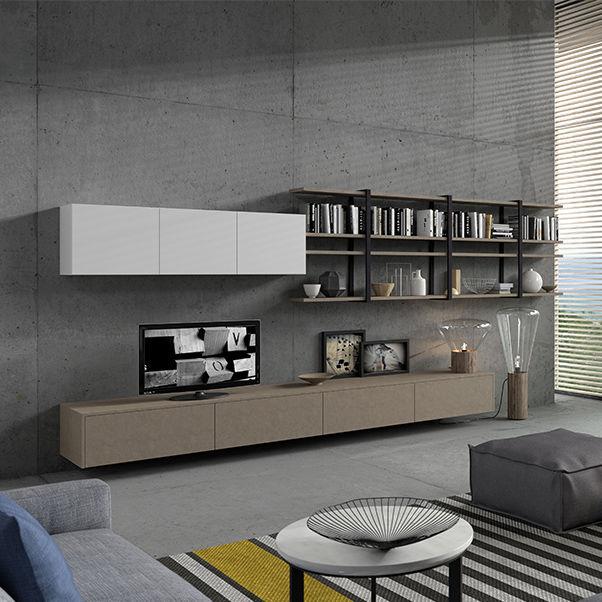 Moderne Wohnwand / Glas - BIJOU - ARAN Cucine