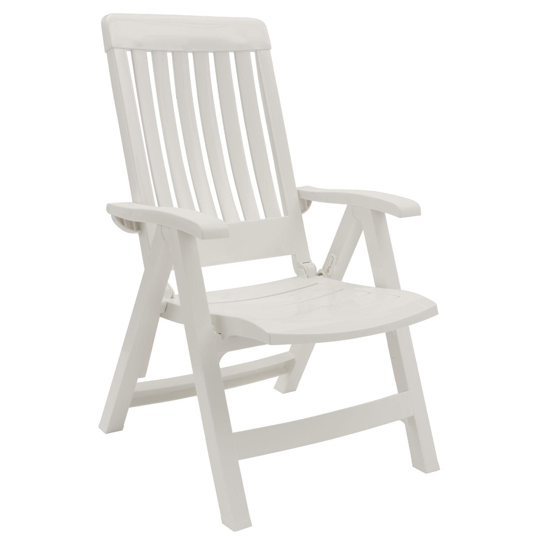 Moderner Sessel / aus Harz / mit neigbarer Rückenlehne / ergonomisch ...