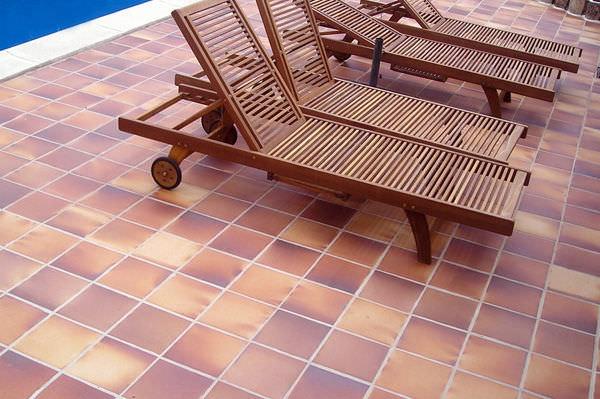 Fußboden Aus Klinker ~ Cotto tonplatten klinker naprex