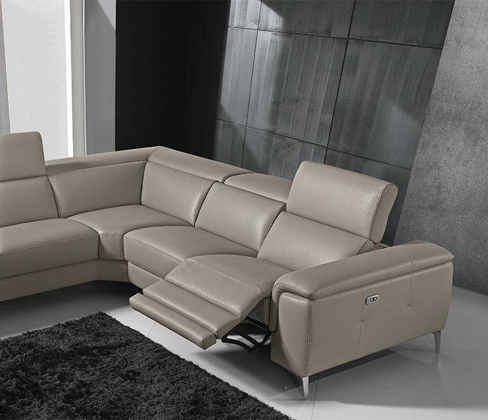 Modulierbares Sofa / modern / Leder / Stoff - PREMIUM : GENISIA ...