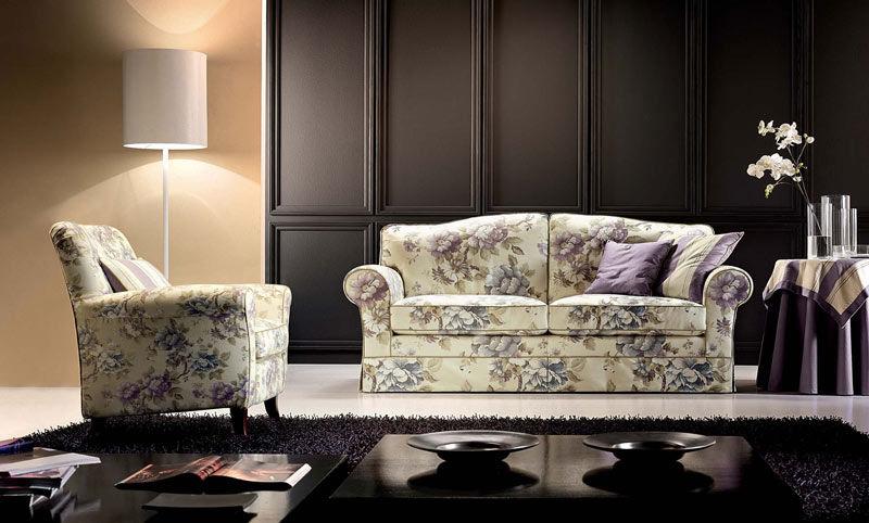 Klassisches Sofa / Landhausstil / Stoff / 2 Plätze   PARIS
