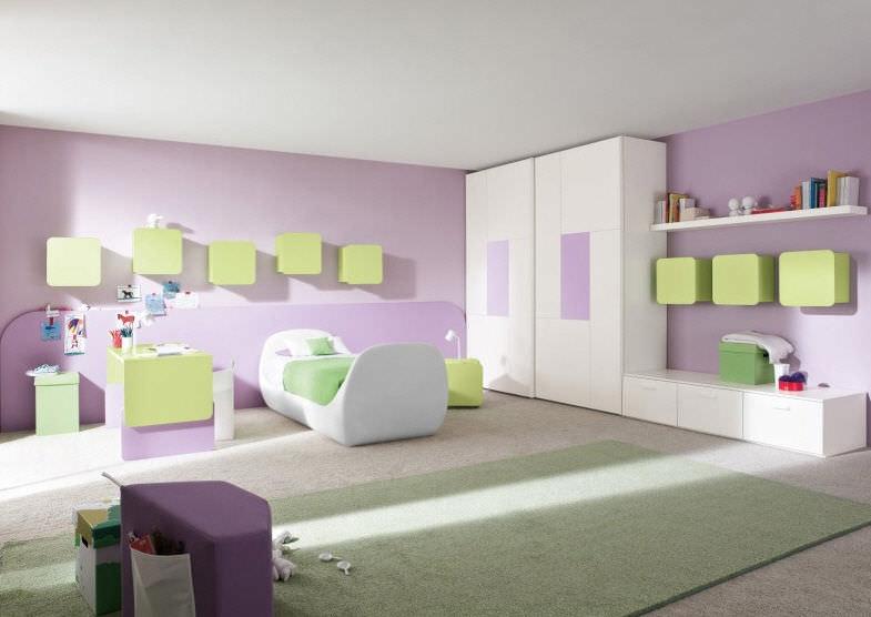 kinderzimmer wei lila: schönes zuhause : kleiderschrank ... - Kinderzimmer Mdchen Weiss
