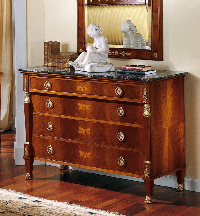 Kommode / Louis XV. Stil / Holz / braun - 125 - Colombo Mobili