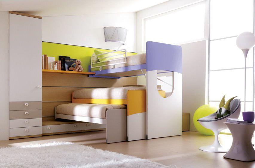 Etagenbett Junge Und Mädchen : Hochbett modern für mädchen holz doimo cityline