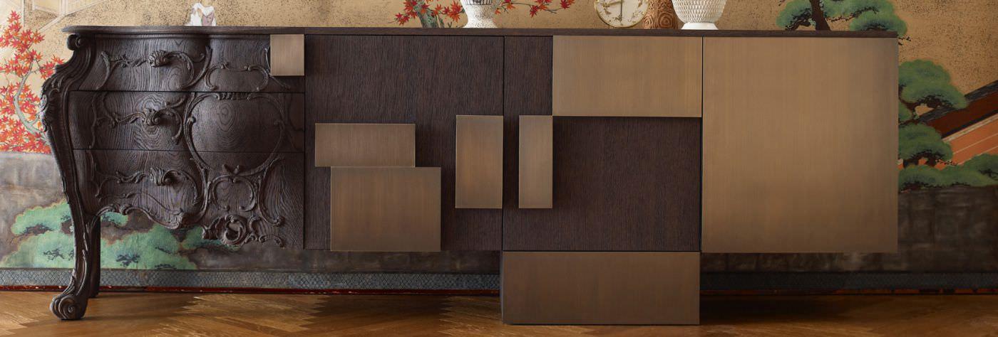 Sideboard design holz  Sideboard / originelles Design / lackiertes Holz / von Ferruccio ...
