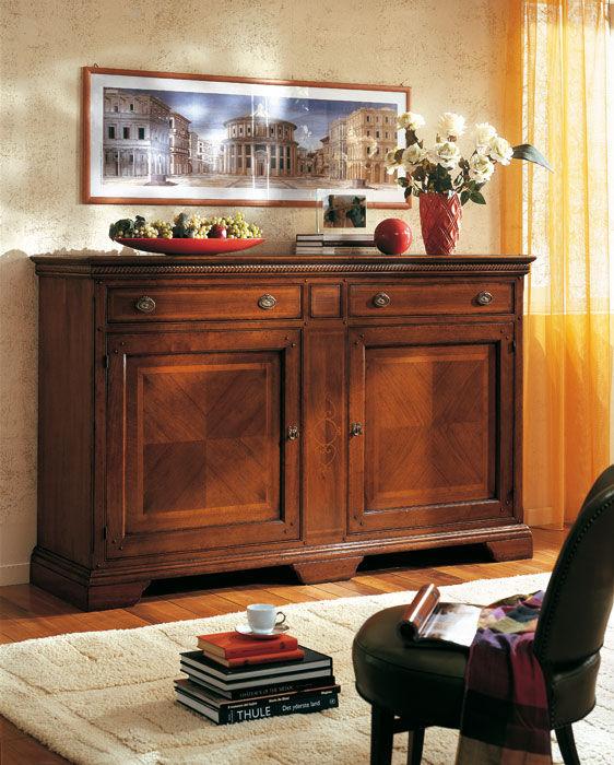 Klassisches Sideboard / Holz - GIORGIONE - F.M. Bottega d\'Arte ...