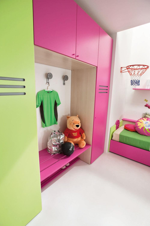 Grünes Kinderzimmer / für Mädchen - SPORT - BASKET 2 - Faer Ambienti