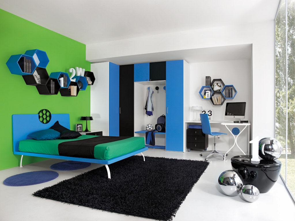 Kinderzimmer für jungen   sport   calcio 2   faer ambienti