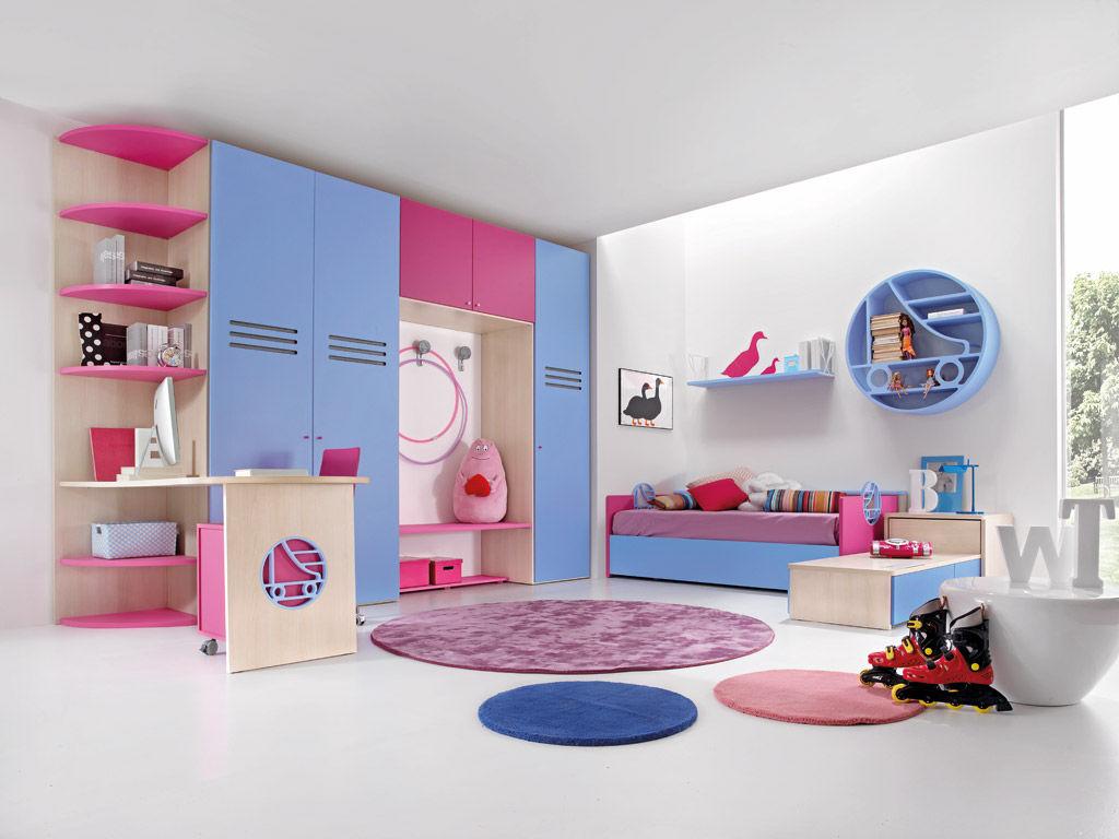 Kinderzimmer für Mädchen - SPORT - ROLLER 2 - Faer Ambienti
