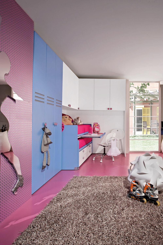 unisex-kinderzimmer / blau - sport - roller 3 - faer ambienti