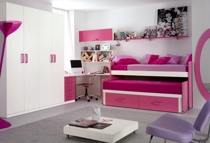 Rosa Kinderzimmer Fur Madchen Teenager Em0026 Pensarecasa It
