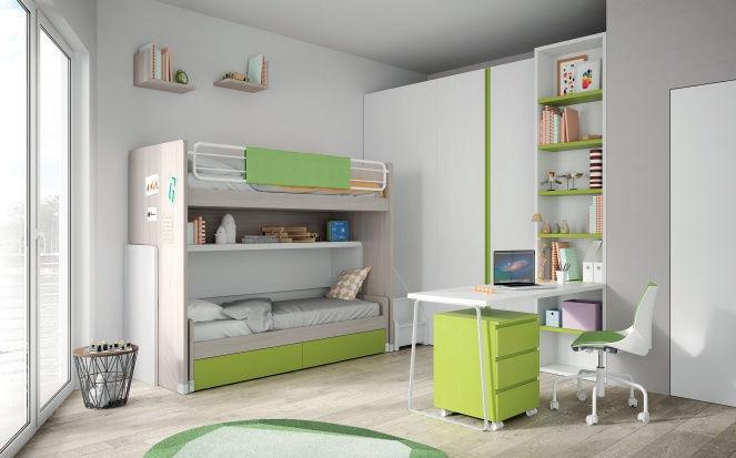 Etagenbett Mit Regal : Etagenbett mit regal luxus hochbett schlafsofa neu sofa