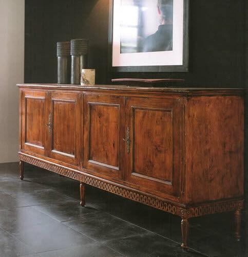 Sideboard / Louis XVI. Stil / Nussbaum - ART 210 - Bertelè